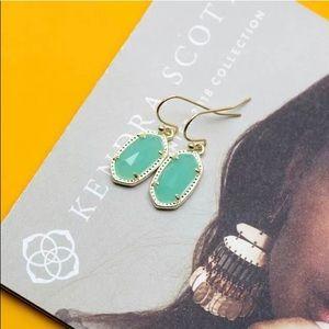 Kendra Scott lee 14k over brass NWT earrings